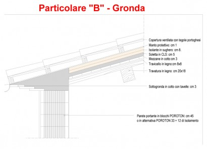 Particolare B – Gronda